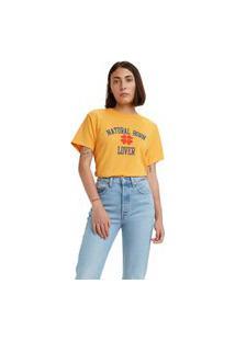 Camiseta Levi'S Graphic Varsity - 62146 Amarelo