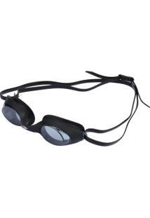 Óculos De Natação Mormaii Snap - Adulto - Preto/Cinza Esc