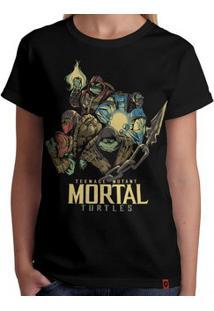Camiseta Tartarugas Mortais