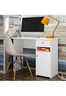 Mesa Para Computador Colegial Branco Mc7007 - Art In Móveis