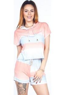 Camiseta Besni Feminina - Feminino-Rosa
