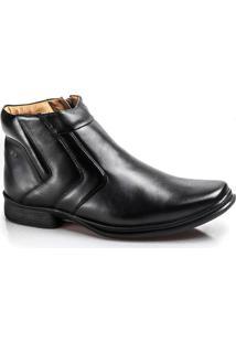 Bota Soft Confort Boots 9904-00-Preto-37