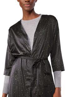 Kimono Longo Cetim