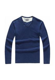Blusa Masculina Ctv Simple - Azul