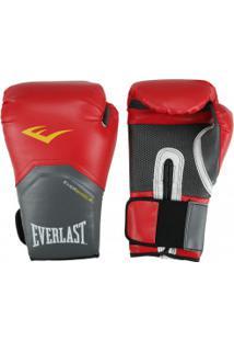 f79159e94 Luvas De Boxe Everlast Pro Style Elite 14 Oz - Vermelho Branco