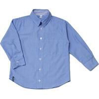 76c18c09d6 Camisa Infantil Tóing Manga Longa Tradicional Azul Celeste