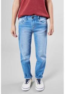 Calça Mini Sm Estique Se Lavado Reserva Mini Masculina - Masculino-Azul