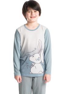 Pijama Bunny Longo Infantil Masculino