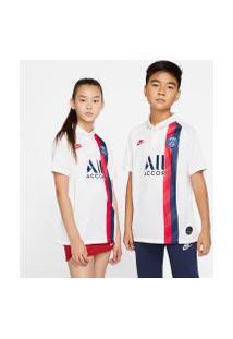 Camisa Nike Psg Iii 2019/20 Torcedor Pro Infantil