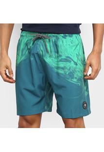 Bermuda D'Água Oakley Omni Trunk Masculina - Masculino-Verde