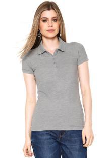 7cf68e36ba7c3 Camisa Pólo Kj Manga Curta feminina