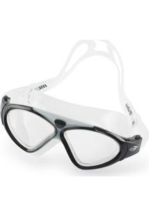 Óculos De Natação Mormaii Orbit Transparente E Preto Com Lentes  Transparentes 15c25a3520