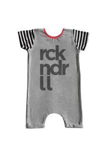 Pijama Curto Comfy Rck Nd Rll