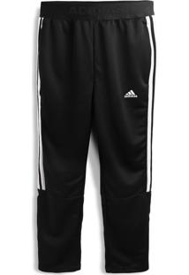 Calça Adidas Performance Menino Logo Preta