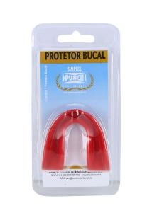 Protetor Bucal Punch Protector Fight - Adulto - Vermelho