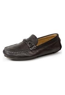 Sapato Drive Sandro Moscoloni Magnum Marrom Escuro