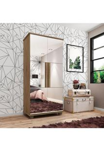 Sapateira Requinte Com Espelho E 5 Partes Marrom