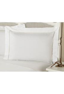 Fronha Premium Caress Percal 233 Fios 50X150 Cm
