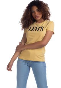 Camiseta Levis The Perfect - 50655 Amarelo - Tricae