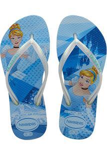 4199f44193 Chinelo Infantil Havaianas Slim Disney Princesas - Feminino
