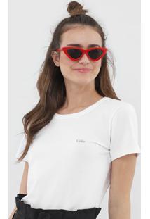 Camiseta Coca-Cola Jeans Logo Branca