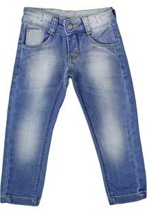 Calça Jeans Infantil Oznes Menino Azul - 2