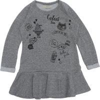 30b90d371 Vestido Colcci Com Manga infantil   Shoes4you