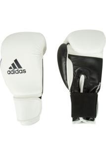 Luvas De Boxe Adidas Power 100 Smu Colors - 10 Oz - Adulto - Branco/Preto