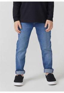 Calça Jeans Infantil Menino Skinny Azul
