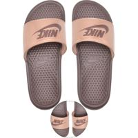 94c908758268 Chinelo Slide Nike Sportswear Wmns Benassi Just Do It Rosa