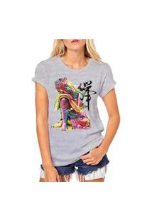 Camiseta Coolest Buda Cinza