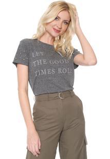 Camiseta Lez A Lez Good Times Grafite