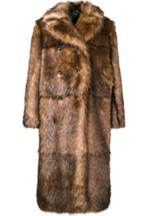 Kwaidan Editions Faux Fur Jacket - Marrom