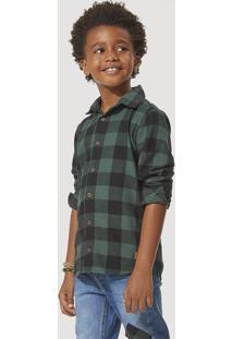 Camisa Infantil Menino Flanela Xadrez São João Hering Kids