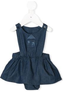 Knot Vestido Jeans 'Hygge House' - Azul