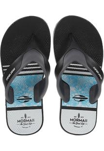 Chinelo Mormaii Neocycle Infantil - Masculino