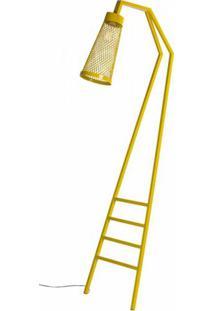 Luminaria Revisteiro Sampa Com Estrutura Em Tubo Redondo Cor Amarelo 1,70 Mt (Alt) - 53594 Sun House