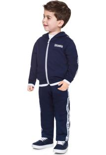 Conjunto Infantil Menino Jaqueta + Calça Milon Azul