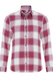 Camisa Masculina Diogo - Vermelho