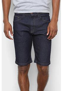 Bermuda Jeans Hd Ly Masculina - Masculino-Azul