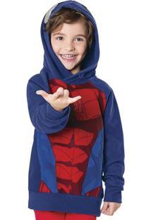 Casaco Interativo Spider-Man Azul Spider-Man