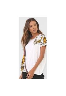 Camiseta Desigual Atenas Off-White
