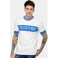 Camiseta Cruzeiro Recorte Masculina - Masculino 7a641fae1c1c5