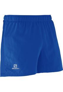 Short Salomon Race Long M Azul