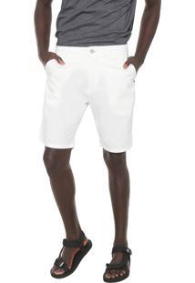 Bermuda Sarja Osklen Chino Lisa Off-White