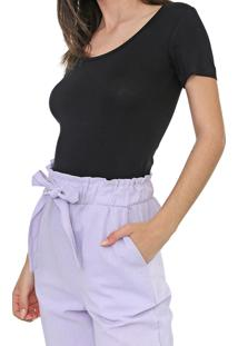Camiseta Sommer Lisa Preta