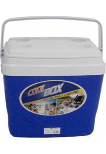 Caixa Térmica Cooler Norway 32 Litros Azul