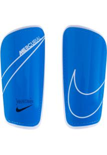Caneleira De Futebol Nike Mercurial Hard Shell - Adulto - Azul Claro