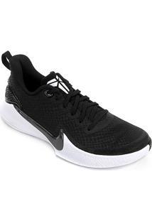 Tênis Nike Mamba Focus Masculino - Masculino-Preto+Branco