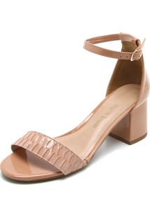 Sandália Ana Hickmann Textura feminina   Shoes4you 55e4bf9832